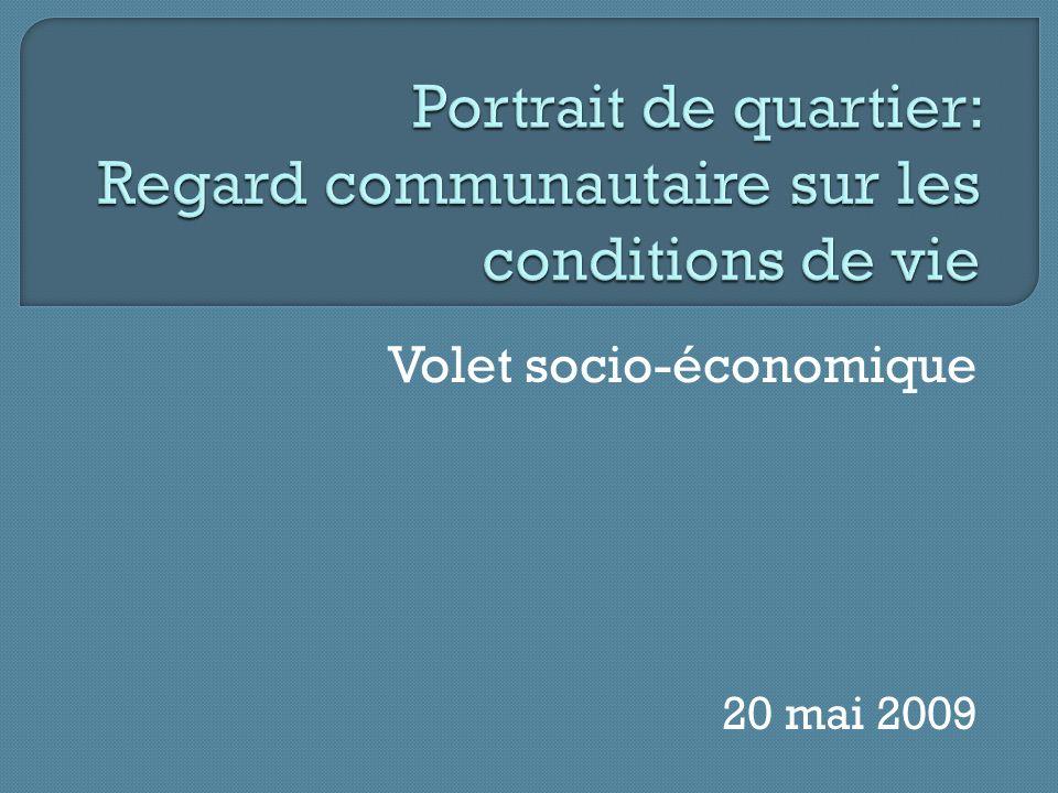 Volet socio-économique 20 mai 2009