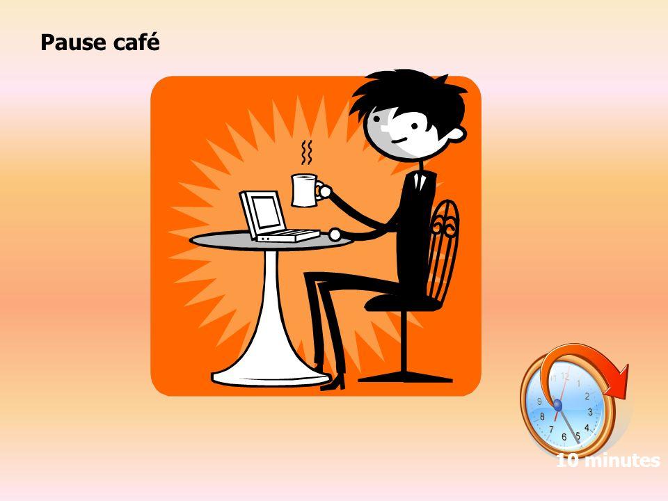 Pause café 10 minutes