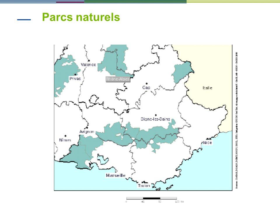 Parcs naturels