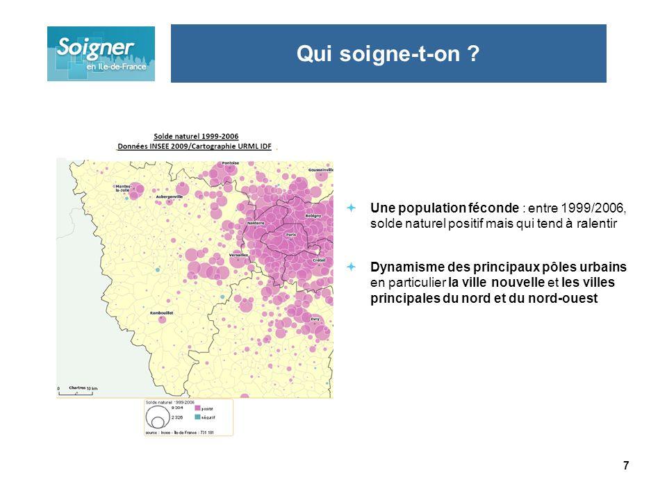 8 Une situation sociale plutôt favorable Yvelines : parmi les taux de chômage les plus faibles de la région Qui soigne-t-on ?