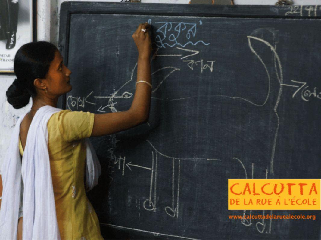 Professeur Nupur Banerjee Professeur Susmita Santra Personnel de maintenance Chaya Das + Ganga Das École modèle model school Responsable du programme Gopa Bhattacharya Programmes éducatifs