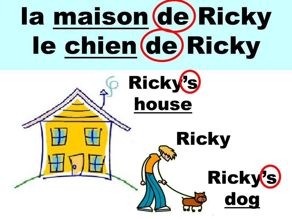 la maison de Ricky le chien de Ricky Ricky Rickys house Rickys dog