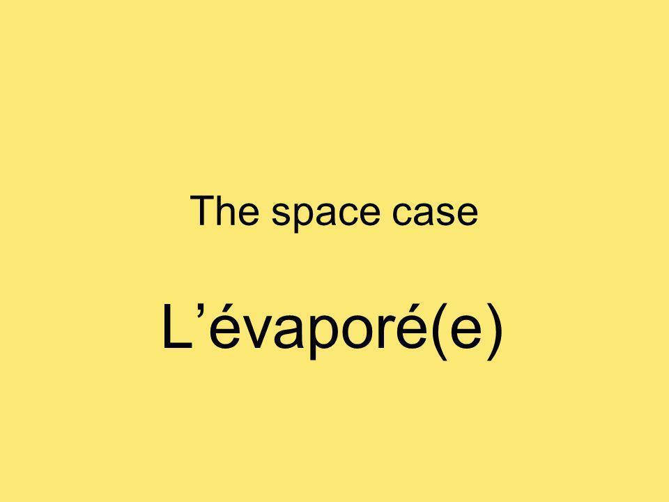 The space case Lévaporé(e)