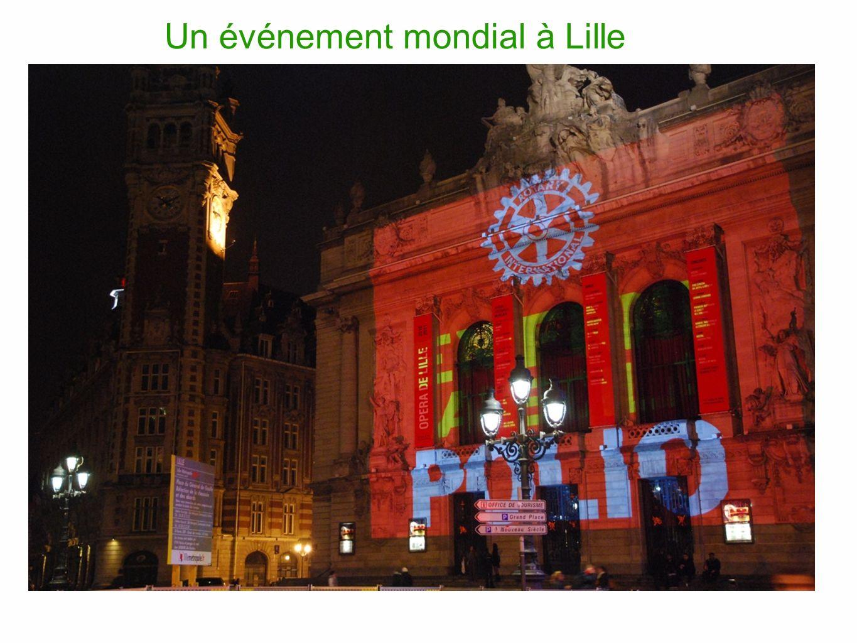 Un événement mondial à Lille