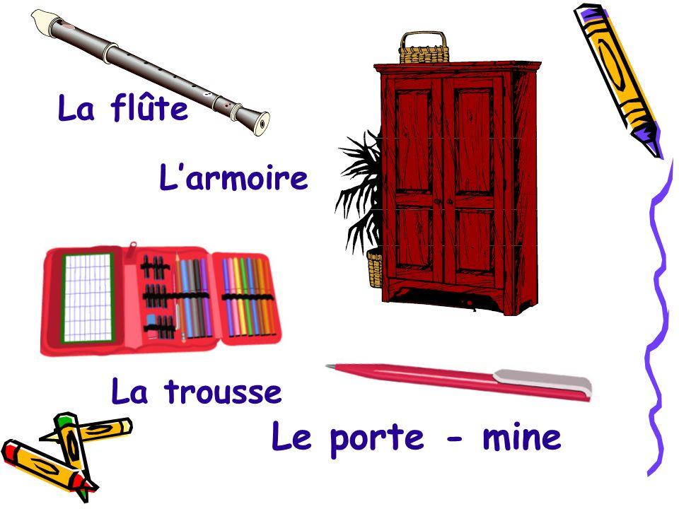 La calculette Lhorloge Le calendrier Le panneau Carte murale
