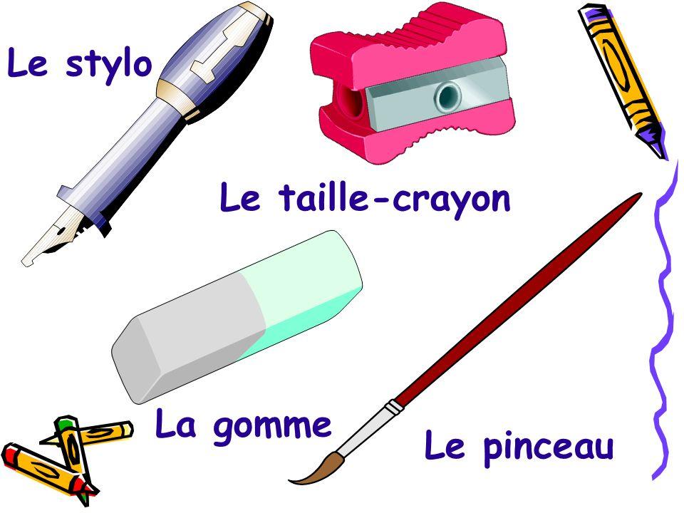 Le crayon Les crayons à couleurs