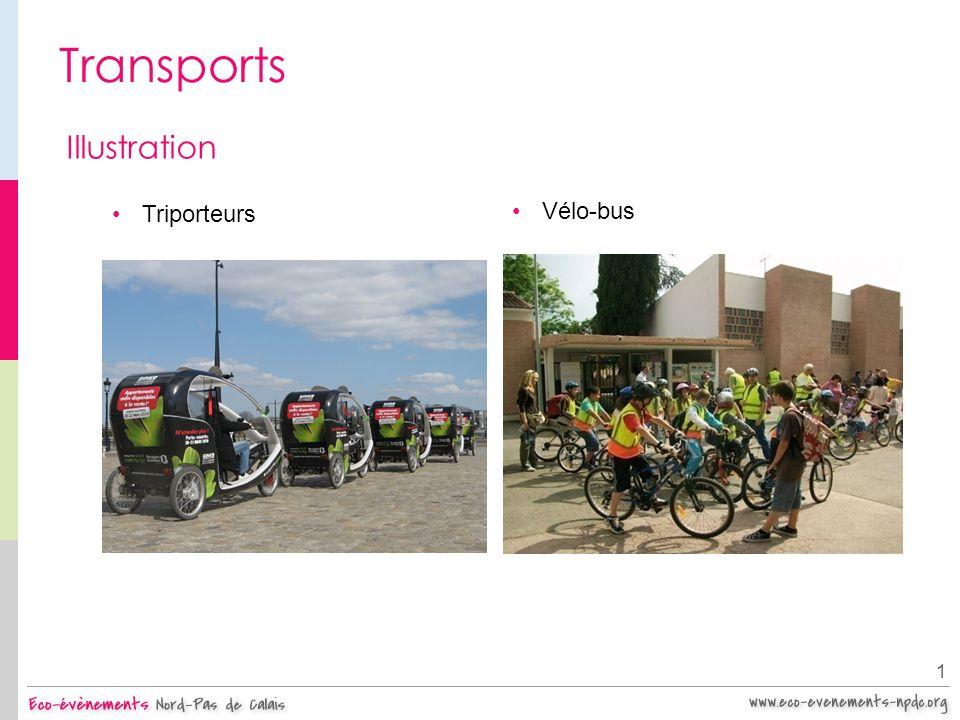 Transports 1 Illustration Triporteurs Vélo-bus