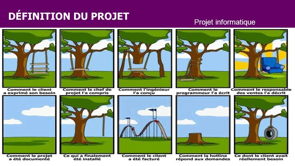 DÉFINITION DU PROJET Projet informatique