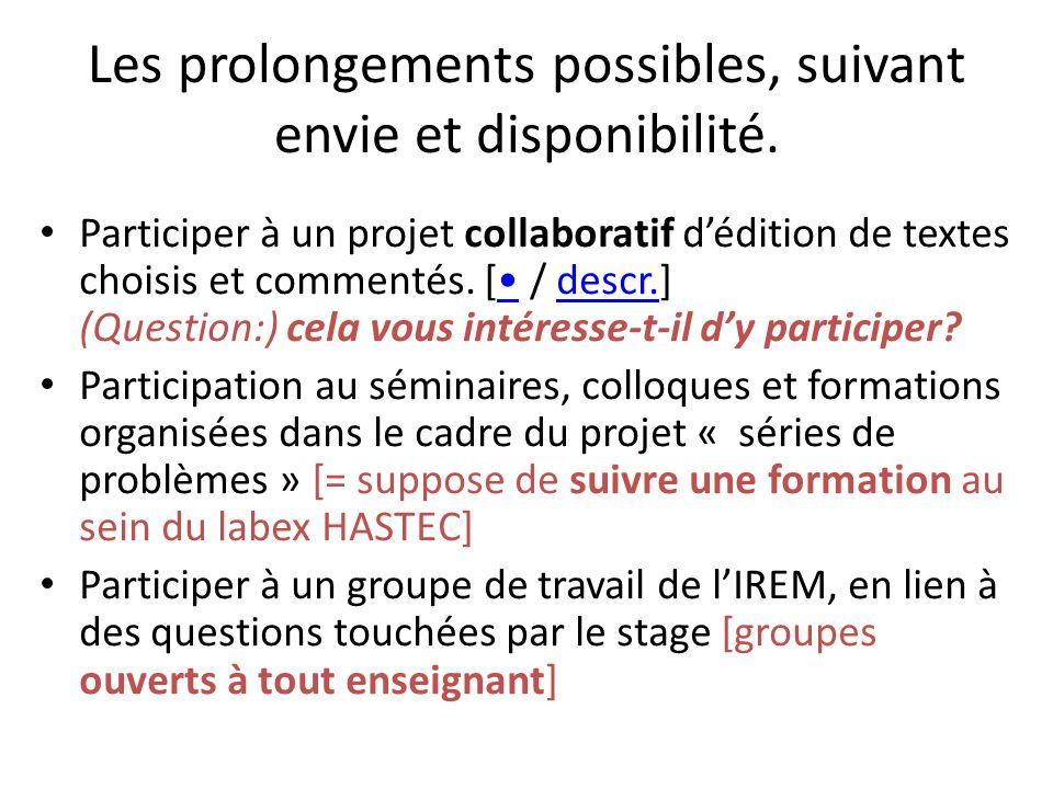 INTRO GENERALE (séries de pb = leur intérêt) Thématique 1 Thématique 2Thématique 3 Thématique 4… TEXTE 1 TEXTE 2 TEXTE 3 TEXTE 4 Etc.
