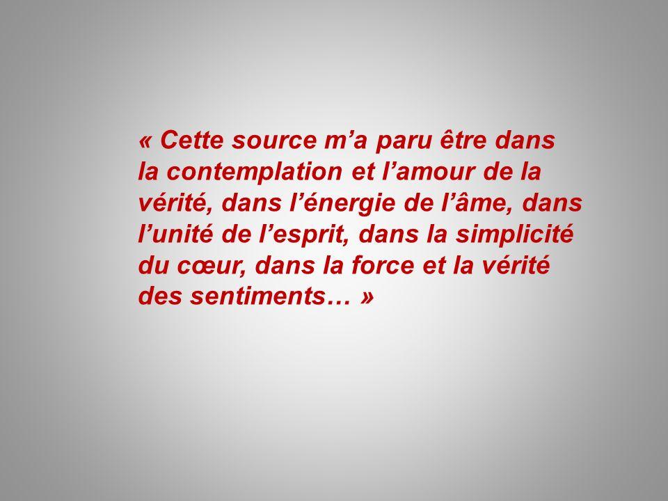 « Savez-vous ce qui est le plus important, le plus difficile et ce qui ne nous sera donné ni par létude, ni par lintelligence … .