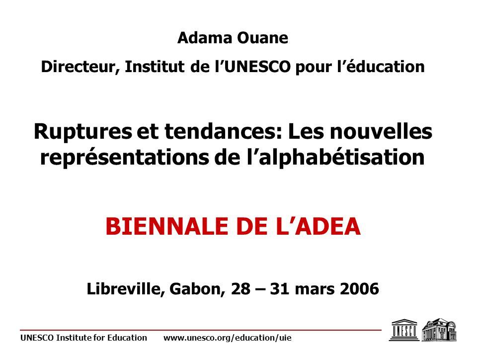 UNESCO Institute for Educationwww.unesco.org/education/uie 5.