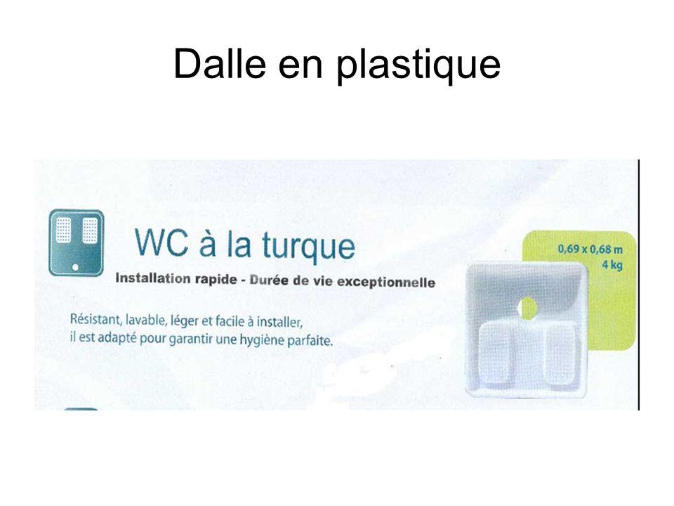 Dalle en plastique