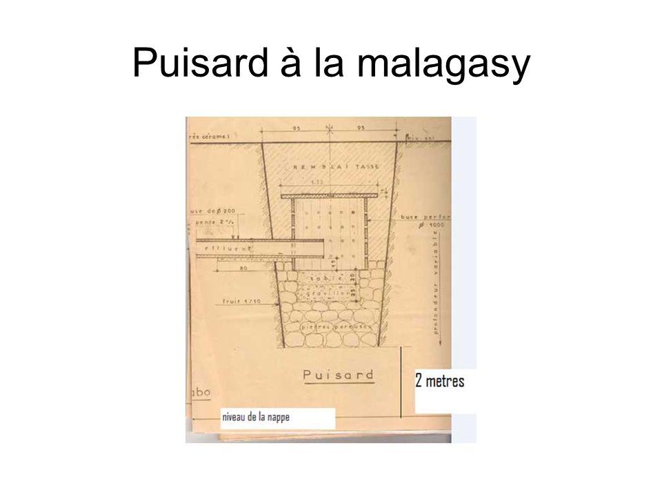 Puisard à la malagasy
