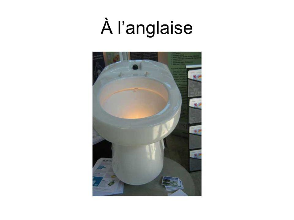 À langlaise