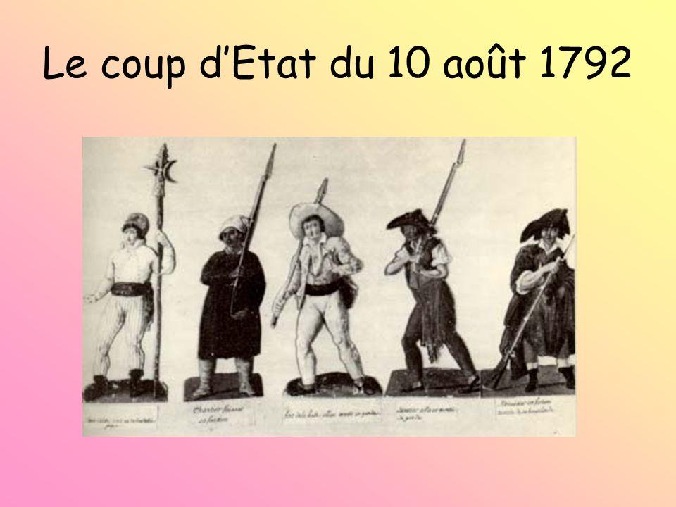 Le coup dEtat du 10 août 1792