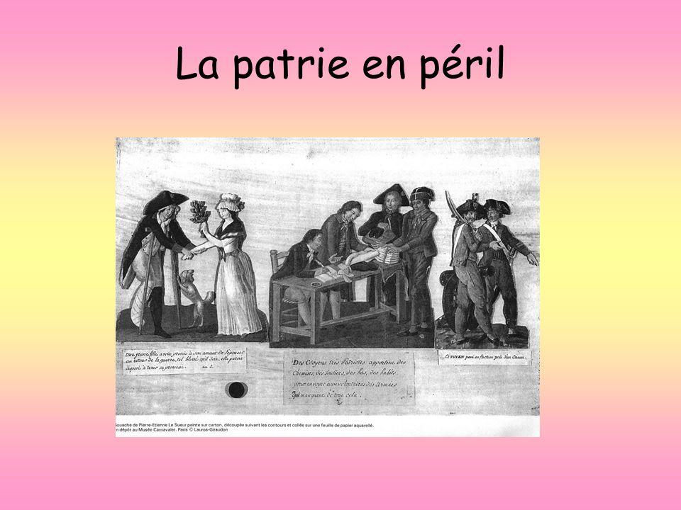 La patrie en péril