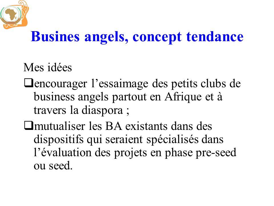 Busines angels, concept tendance Mes idées encourager lessaimage des petits clubs de business angels partout en Afrique et à travers la diaspora ; mut