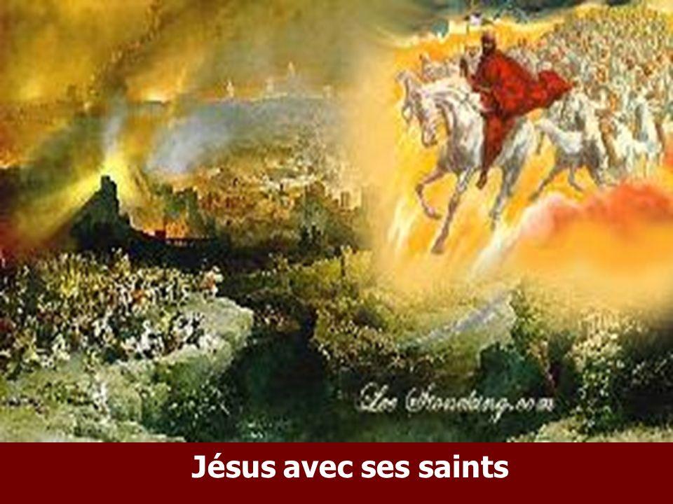 Jésus avec ses saints