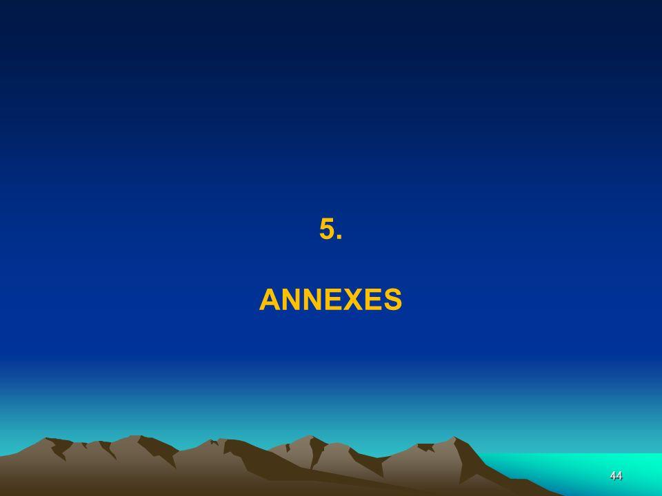 44 5. ANNEXES