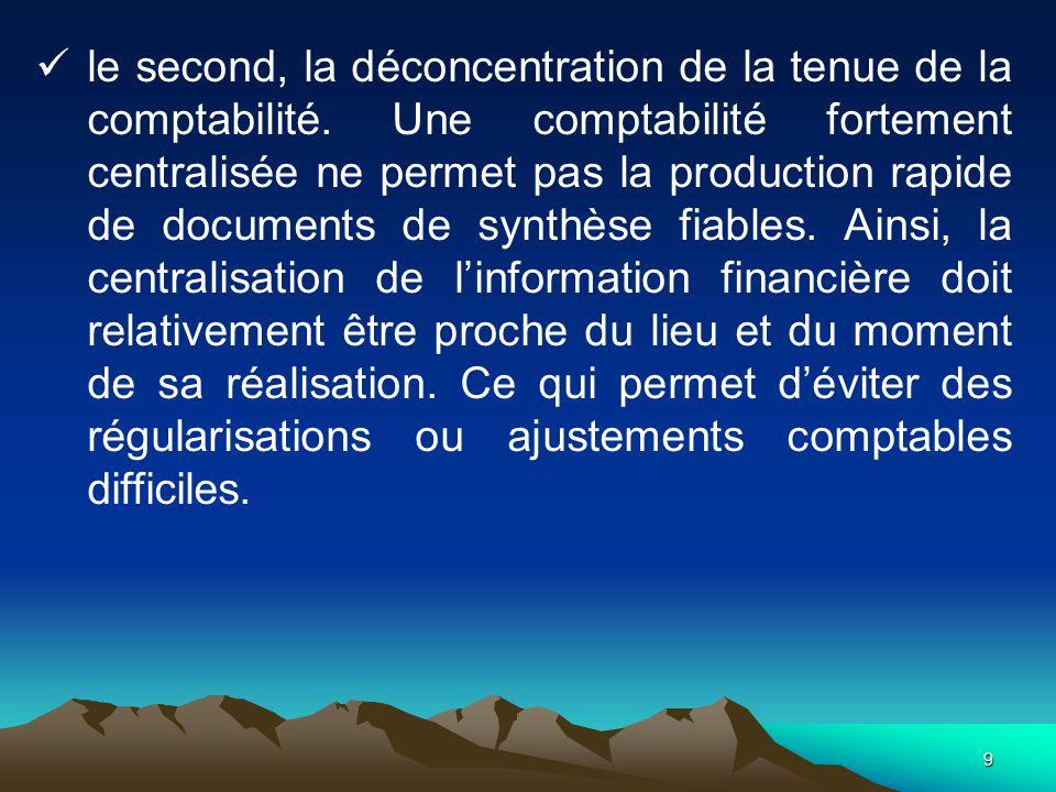 20 3.1.- LA COMPTABILITÉ DES CNC Les CNC sont constitués par les trésoriers principaux et municipaux.