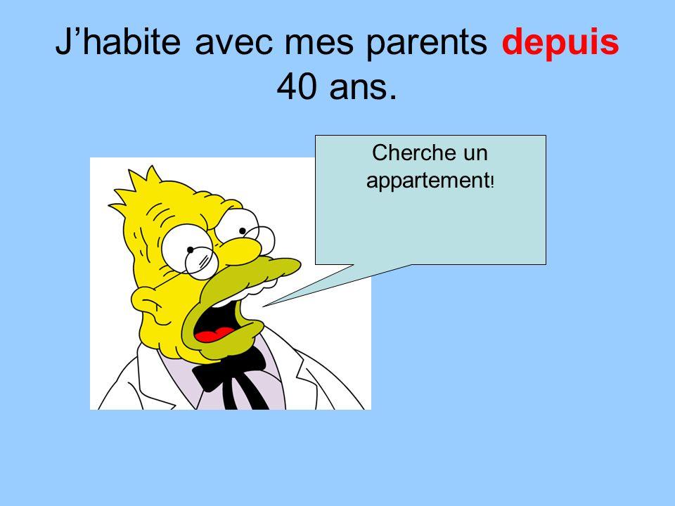 Jhabite avec mes parents depuis 40 ans. Cherche un appartement !