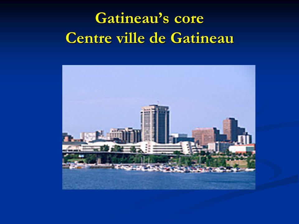 Gatineaus core Centre ville de Gatineau