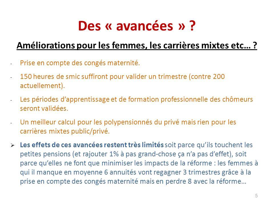 Minima de pensions 46 % des départs en retraite du régime général : 629 /mois.