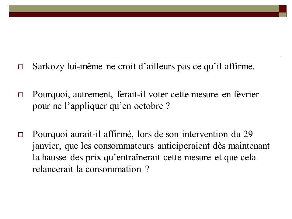 Sarkozy lui-même ne croit dailleurs pas ce quil affirme.