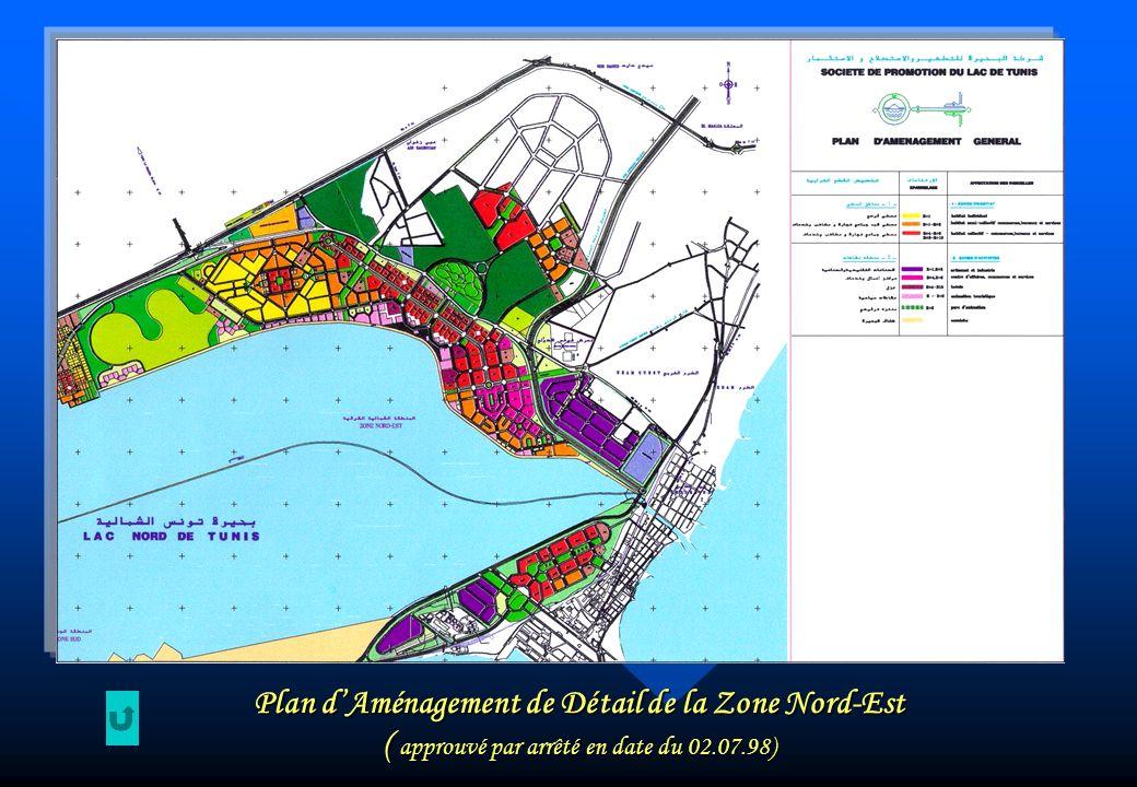 Plan dAménagement de Détail de la Zone Nord-Est ( approuvé par arrêté en date du 02.07.98)