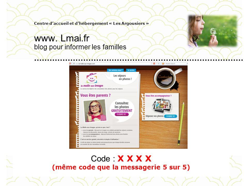 Centre daccueil et dhébergement « Les Argousiers » www. Lmai.fr blog pour informer les familles Ligue de lenseignement du Pas-de-Calais Pour personnal