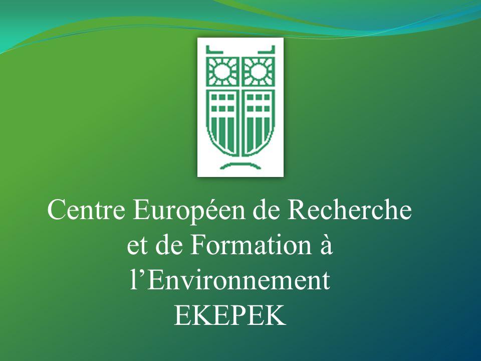 Le Centre Européen de Recherche et de Formation à lEnvironnement a été établi en février 2002