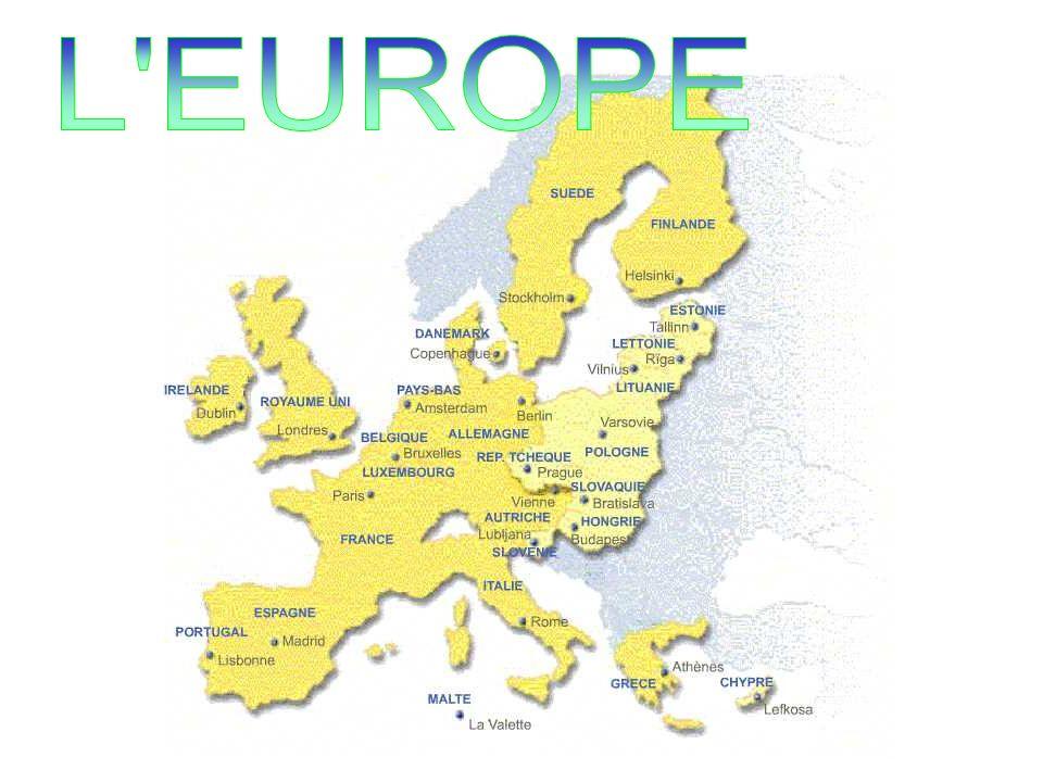 LE CONSEIL EUROPEEN Une institution qui sest ajoutée… Constitué des chefs détat et de gouvernement des 15 états membres Avec une présidence tournante tous les 6 mois Les décisions sont prises par consensus LE CONSEIL FIXE LES GRANDES ORIENTATIONS ET DONNE LIMPULSION POLITIQUE EN FIXANT LES PRIORITES Le futur traité prévoit un président permanent élu pour 2 ans et demi, renouvelable une fois et nayant pas de mandat national