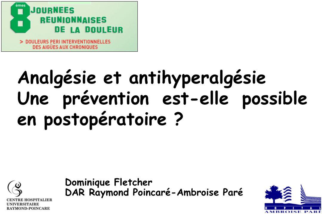Physiologie de lhyperalgésie .