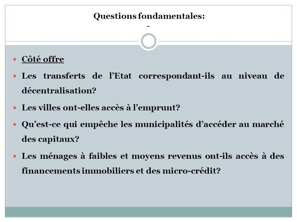 THEME 3: Finances * Les ressources sont dorigines différentes : transports de lEtat, fiscalité propre, mise en valeur du foncier et aménagement, inves