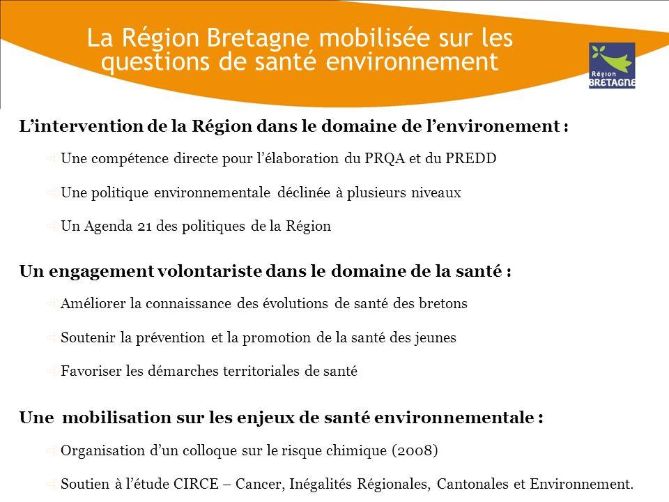 Les observations de la Région Bretagne sur le projet de PRSE