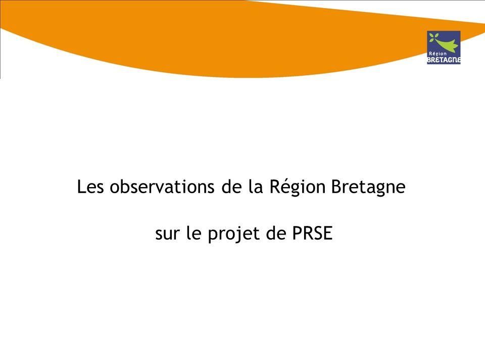 Sur la méthode délaboration du PRSE Lintérêt dune forte prise en compte de lévaluation du premier PRSE Létat des lieux a été réalisé en sappuyant sur lexpertise locale de lORS Bretagne.