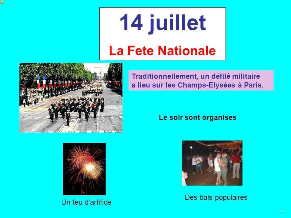 La Prise de la Bastille Le 14 juillet 1789, le peuple entre dans la Bastille (ancienne prison). Cest debut de la Revolution Francaise et la fin de la