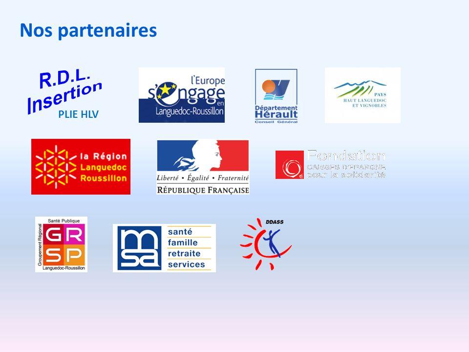 Nos partenaires PLIE HLV