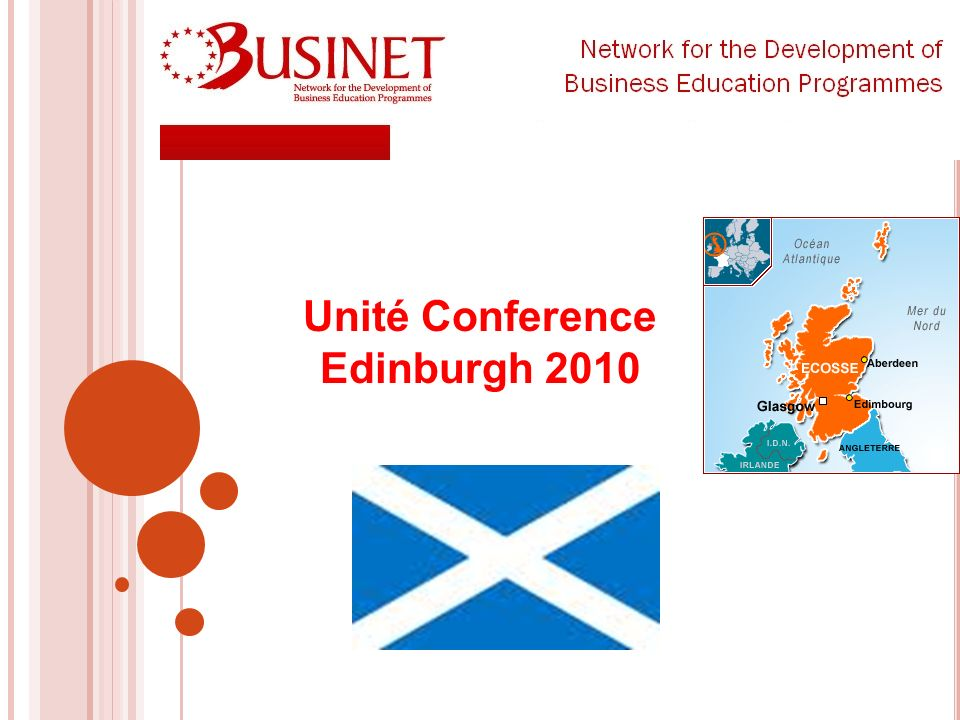 Unité Conference Edinburgh 2010