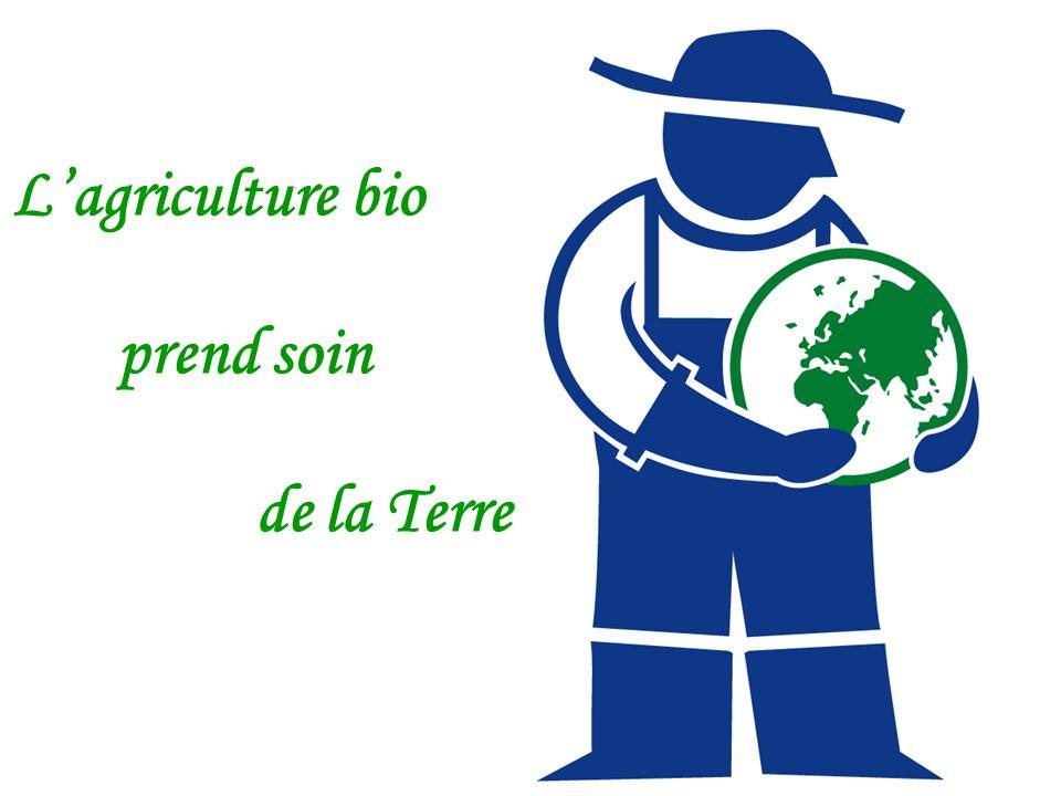 Lagriculture bio prend soin de la Terre