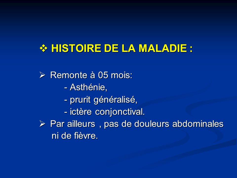 Cirrhose biliaire primitive Cirrhose biliaire primitive Diagnostic = association dau moins 2 des 3 critères: Diagnostic = association dau moins 2 des 3 critères: 1) signes biologiques de cholestase.