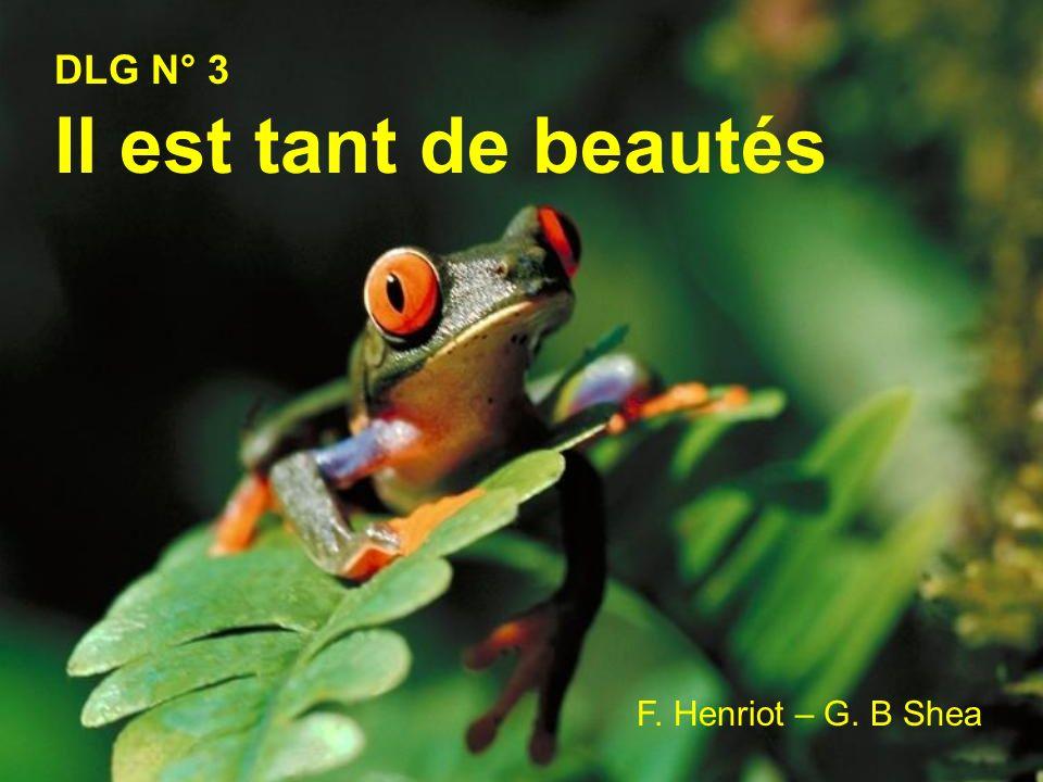 DLG N° 3 Il est tant de beautés F. Henriot – G. B Shea