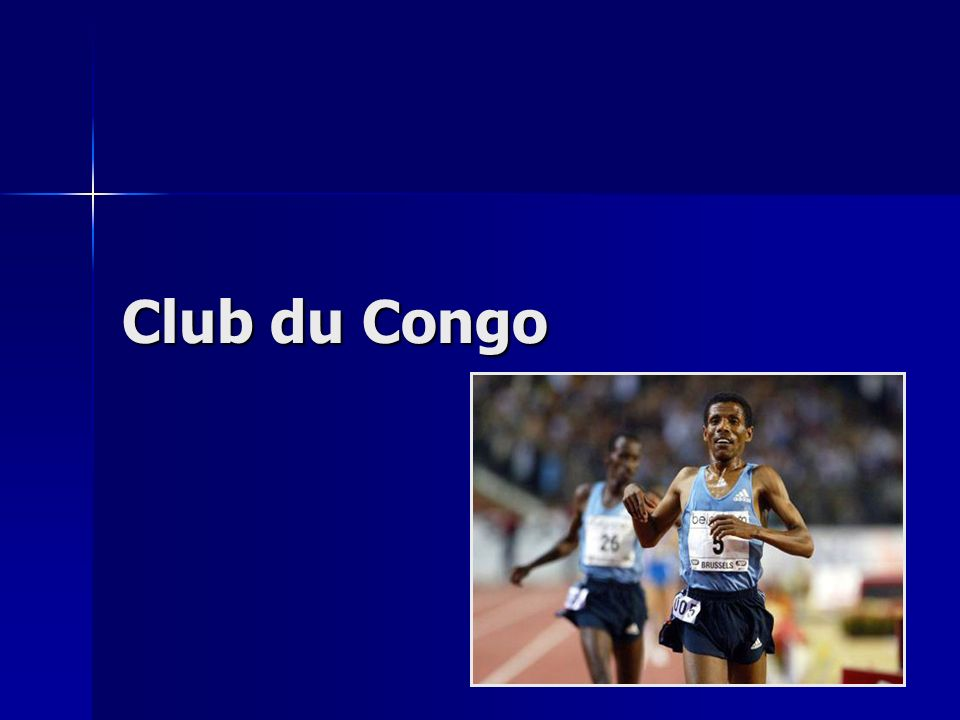 Programme 1.Histoire du Congo :le prisme économique 2.