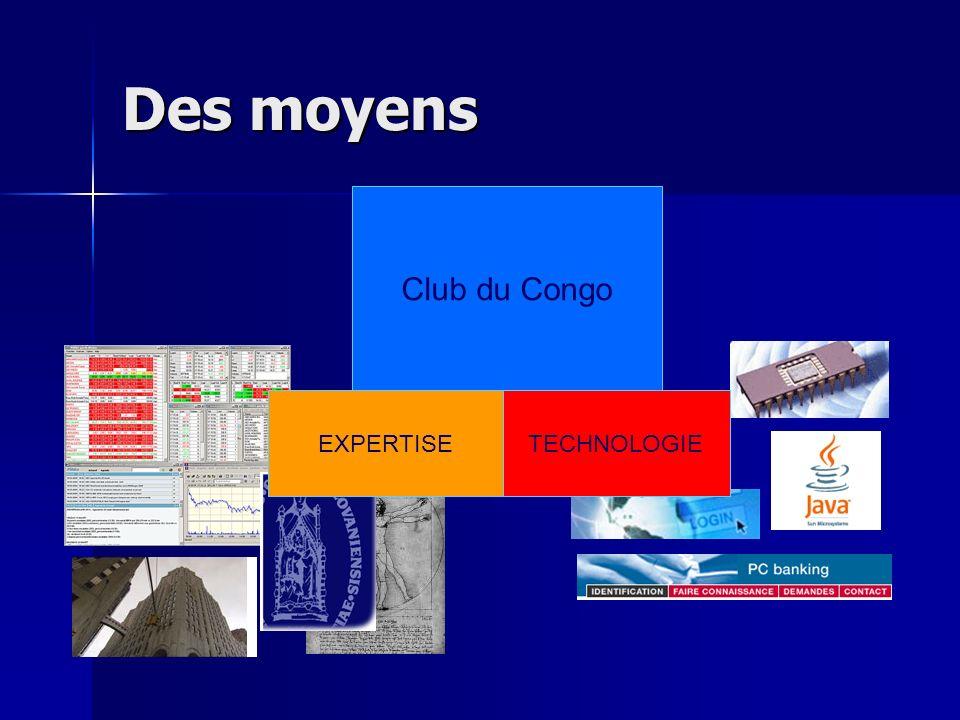 Des moyens Club du Congo EXPERTISETECHNOLOGIE