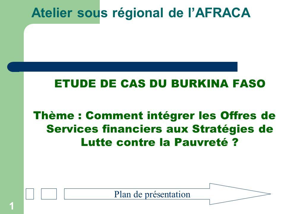 2 1.Aperçu sur la situation économique, sociale du pays et politique du Burkina du pays 2.