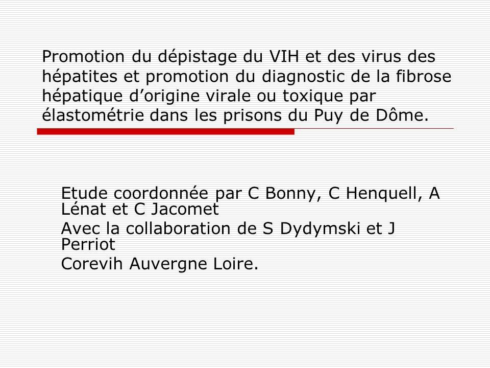 Justification de létude Prison française et système de soin La consommation en Prison Données 2010 dans le Puy de Dôme