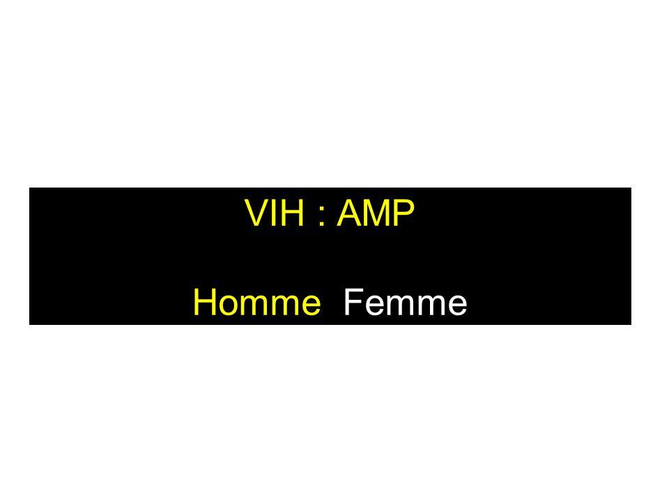VIH : AMP Homme Femme