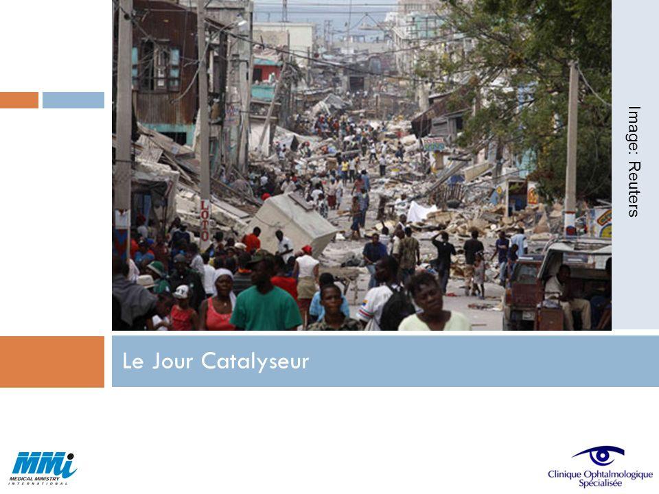 Discussions et visites en Haiti du directeur de MMI,William T.