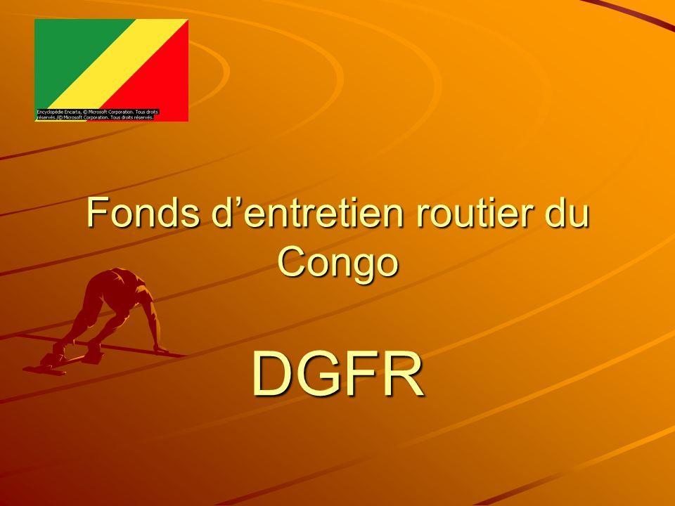 Fonds dentretien routier du Congo DGFR