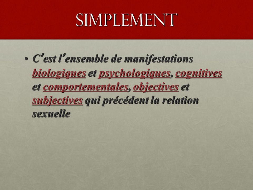 ASPECTS CLINIQUES A.Manifestations cliniques : 1.
